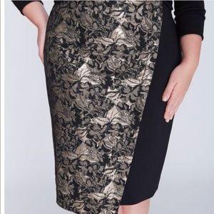 Lane Bryant Skirt Beautiful New 18